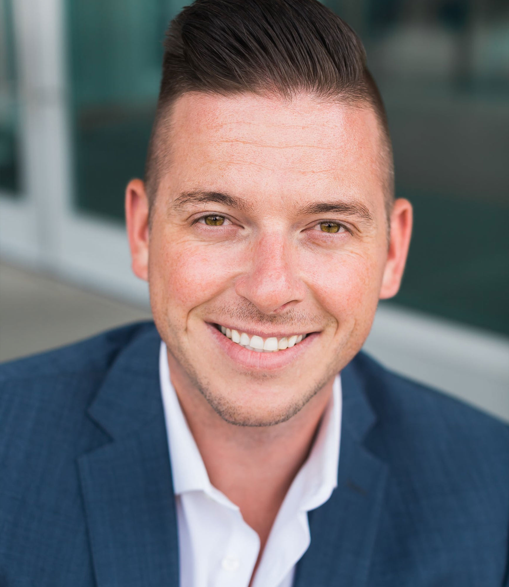 Jared Franczak realtor headshot huber mortgage site