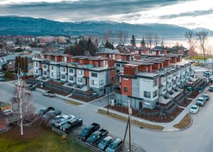 Gyro Beach Townhomes from above image