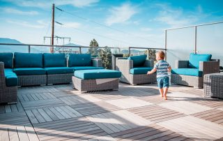 Gyro Beach Townhomes rooftop patio image